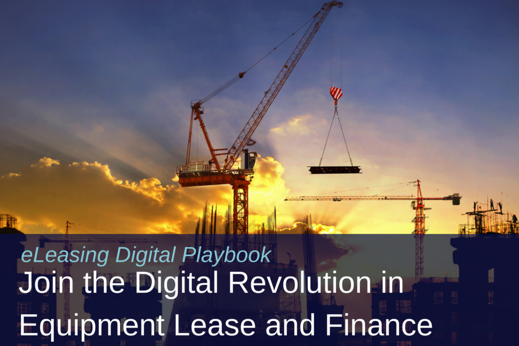 eLeasing Digital Playbook: Equipment Lease and Finance